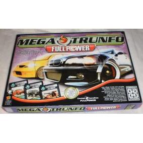 Jogo Mega Trunfo Full Power-brinquedo Antigo Grow - Completo