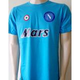 Camisa Napoli Maradona - Futebol no Mercado Livre Brasil 64c3045999863