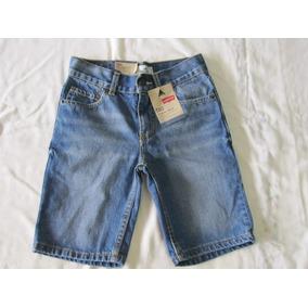 Bermuda Infantil Jeans Levi