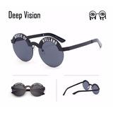 Óculos De Sol Redondo Da Moda Feminino House Of Holland 7b38a8d875