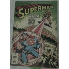 Gibi Hq Superman Nº 15 (1977 Ebal) Raridade!