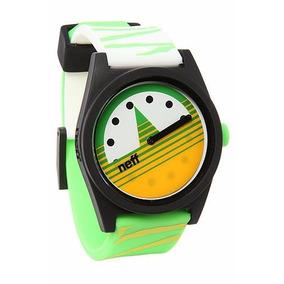 Relógio Neff Daily Green Verde Analógico Original