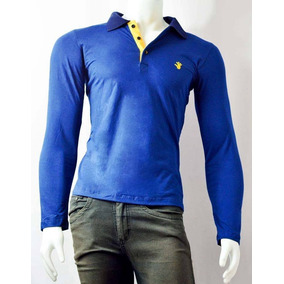 49495b1cb6 Kit 10 Camisas Polo Manga Longa Slim Fit Toka Pronta Entrega