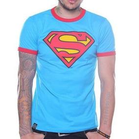 Playera Dc Comics Superman Ringer Original