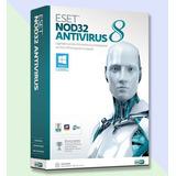 Eset Nod32 Antivirus 8 - 1 Año 2 Computadoras - Facturamos
