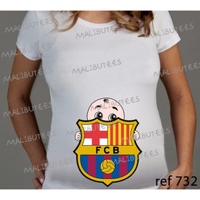 Bornal Do Time Barcelona - Camisetas no Mercado Livre Brasil 09f9a095623e5