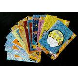 Simpsons Stickers Prismas Set Completo De 12 Tarjetas Artbox