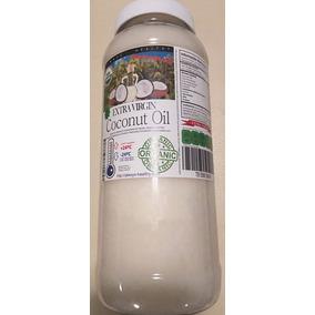 Aceite Coco Comestible Orgánico Exvirgen Prensado/ Frío 1 Lt