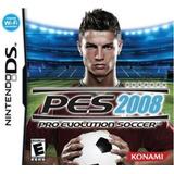 Pes 2008 - Nintendo Ds 3ds - Fisico Nuevo Sellado