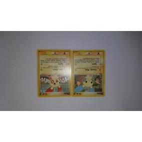 Carta Pokemon Tcg - Minun E Plusle Promo Pop Series 1