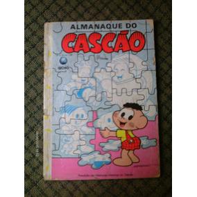 Almanaque Do Cascao N. 6 - Editora Globo - Com Defeito