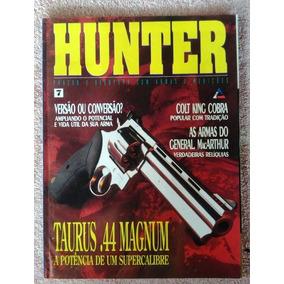 Revista Hunter Nº 7 Arma De Fogo Faca Munição Frete Grátis