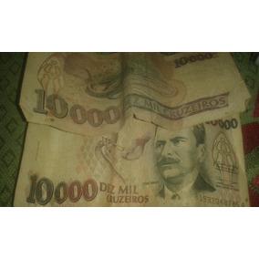 Cédulas , 10.000 E De 5.000 Cruzeiros