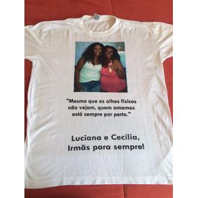 Camiseta Eterna Saudades Falecido Lembrancinha Com Foto Camisetas