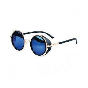 Oculos Redondo Lente Azul De Sol - Óculos no Mercado Livre Brasil a64df47b25