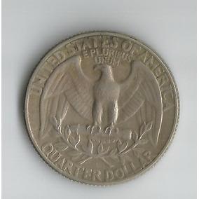 Moeda - United States - Quarter Dollar - 1972 - Washington