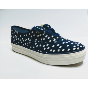 Tenis Keds Triple Retro Geo Navy 100% Originales.