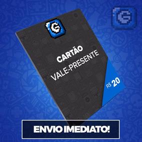 Cartão Presente Gcm Games R$ 20 Reais Envio Imediato