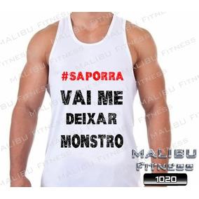 Camiseta Regata Academia Vai Me Deixar Monstro Musculação 0fc07dc163a