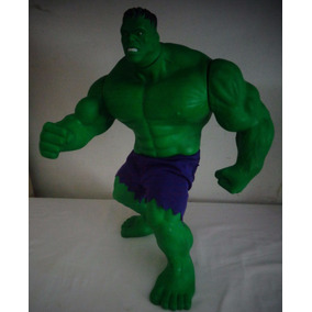 Hulk Boneco Plástico Brinquedo N°1 Antigo