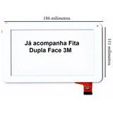 Tela Touch Vidro Tablet Multilaser M7s Quadcore Branco Nb185