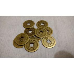 Moeda Chinesa Feng Shui Colar Sorte Fortuna - Frete R$9,99