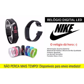 4c923e27086 Relógio Pulseira Nike Led Digital - Barato Pronta Entrega!