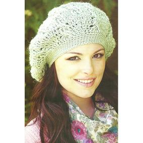 Boinas Tejidas A Crochet - Accesorios de Moda en Mercado Libre Argentina 30fc9657038