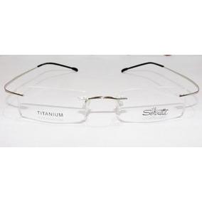 Armação Para Óculos De Grau Silhouette Titanium Flex - Óculos no ... 3e885ab7d2