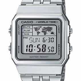 a8228d1ea2e Relógio Casio Vintage World Time A500wa-7df - Unissex - Novo. R  168