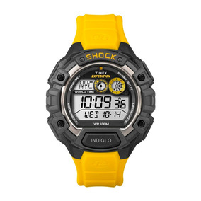 10a0f7ae633 Relógio Timex Expedition Shock T49974ww tn + Nfe