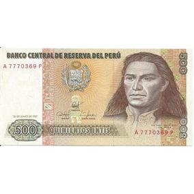 Cédula - Peru - 500 Intis - 1985-1987 - Cat#134