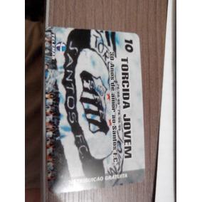 Cartão Telefônico Santos Fc