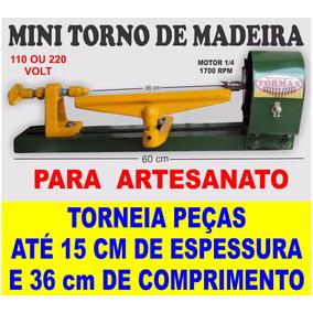 Torno Para Madeira 60 T Frete Grátis