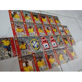 Cards Futebol - Cards Coca Cola - Seleção Brasileira 1997