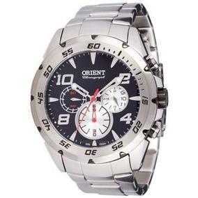 eba0393add7 Relógio Orient Mbssc038 Masculino Visor Preto 100m Lindo