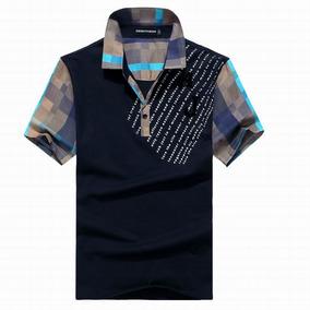 Camisa Polo Giorgio Armani Xg - Pólos Manga Curta Masculinas no ... 27b0b35b47