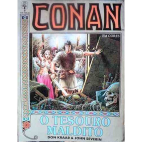 Hq - Revistas Raras De Conan Em Cores N° 9