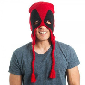 Gorro Invernal Beanie Mascara Deadpool Marvel c7fc079fdf0
