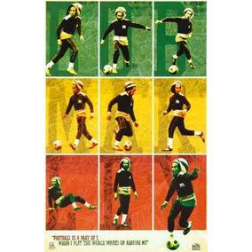 Bob Marley Jugando Al Futbol Posters Carteles Y Fotos En Capital