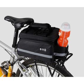 37f3e398e4f Mochila Alforjas Plegable Bici Compatible Cualquier Parrilla