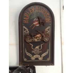 Quadro Harley Davidson-antigo