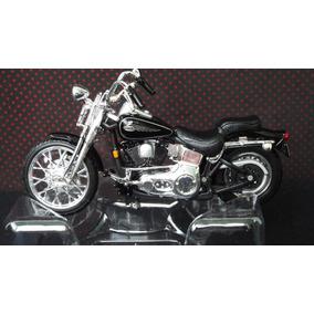 Harley Davidson Fxsts Springer Softail 2001 1:24 Maisto
