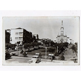 Cartao Postal Fotografico Pça Rui Barbosa Uberaba - Anos 40