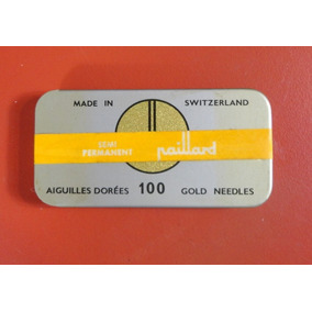 Agulha Gramofone Cx 100 Und - Lacrada - Paillard Switzerland