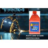 Aceite Lubricante Inca Semi-sintetico 20w50