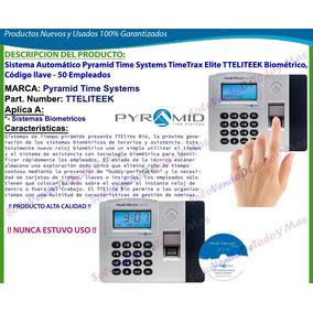 Sistema Control Acceso Y Asistencia Biometrico Pyramid