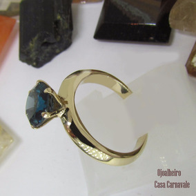 Solitario Tiffany - Anéis com o melhor preço no Mercado Livre Brasil cc7d8a3302