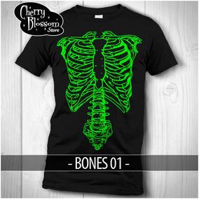 Gratis Envío Playera Esqueleto Halloween Diamuertos Disfraz 45fd5ffe7d531
