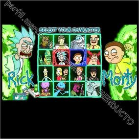 Playera Rick And Morty Playeras Rick And Morty Qnsi